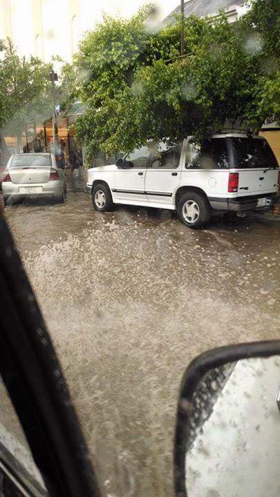 Imágenes después de la lluvia en La Paz, BCS. Crédito Marbella Rivera.