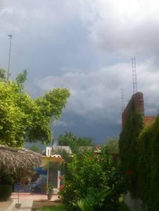 Tormentas en Ciudad Constitución. Crédito Luis Carlos. 10 de agosto 2014
