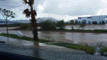 Lluvia en San José Viejo. Crédito Dario Alvarez. 10 de agosto 2014